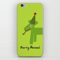 Party Animal-Green iPhone & iPod Skin