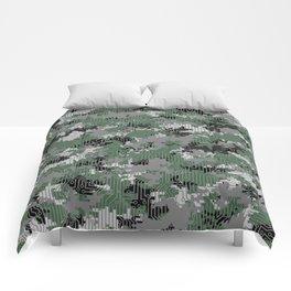 Computer Circuit Camo URBAN GAMER Comforters