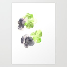170714 Abstract Watercolour Play 14 |Modern Watercolor Art | Abstract Watercolors Art Print