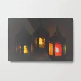 Magic Lanterns Metal Print