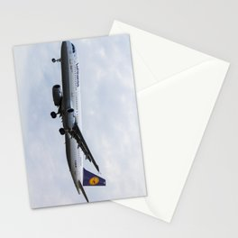 Lufthansa Airbus A321 Stationery Cards