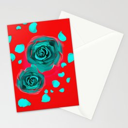 Roses are Blue, Violets are Red Stationery Cards