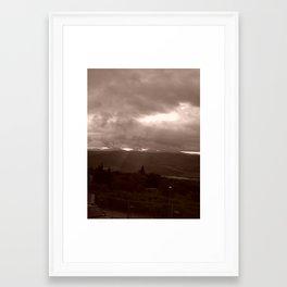 I'm lost Framed Art Print