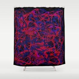 hidden faces 3 Shower Curtain