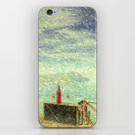 Down By The Sea iPhone Skin