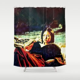 By Firelight Shower Curtain