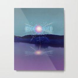 Futuristic Visions 01 Metal Print