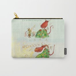Get Well Soon- Poor Red Dragon  Carry-All Pouch