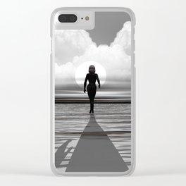 Sie geht Clear iPhone Case