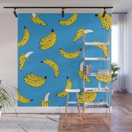 Banana Pattern Wall Mural