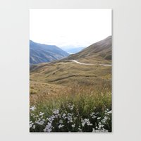 new zealand Canvas Prints featuring New Zealand by Fred Postles