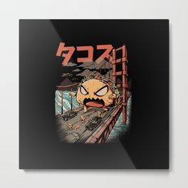 The Black Takaiju Metal Print