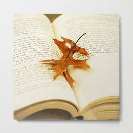Autumn Tale Metal Print