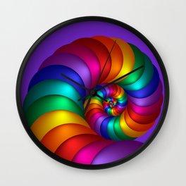 go violet -31- Wall Clock