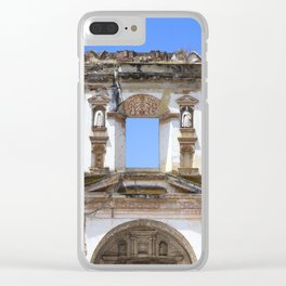 Walking in Guatemala Clear iPhone Case