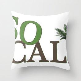 SoCali  Throw Pillow
