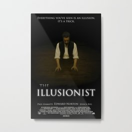 The Illusionist Metal Print