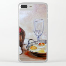 Still life # 24 Clear iPhone Case