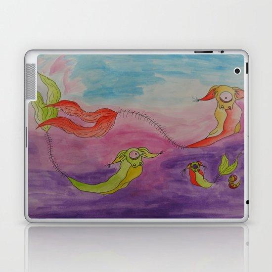 Swimming Laptop & iPad Skin