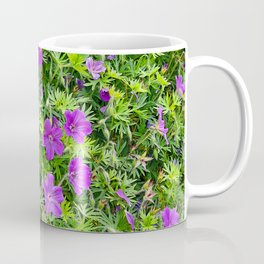 "TRUE SPECIE HARDY GERANIUM ""TINY MONSTER"" Coffee Mug"