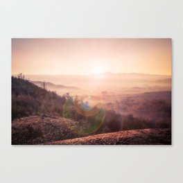 Outback Sunrise (3:2 standard view) Canvas Print