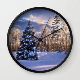 God's Artistry Wall Clock