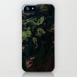 Purple Hills iPhone Case