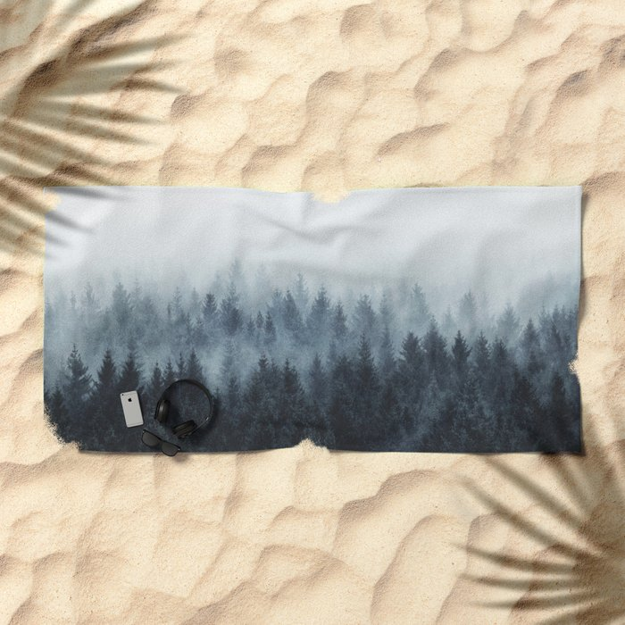High And Low Beach Towel