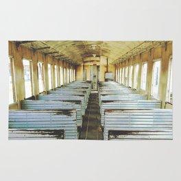 Train Wagon Rug