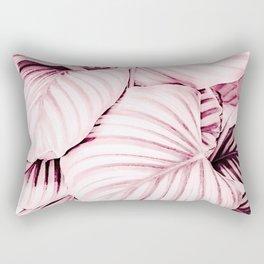 Long embrace - pink Rectangular Pillow