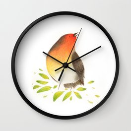 Robin Rossignol Wall Clock