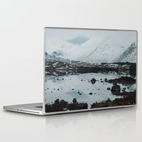 scotland Laptop & iPad Skins featuring Glencoe, Scotland by Diana Eastman