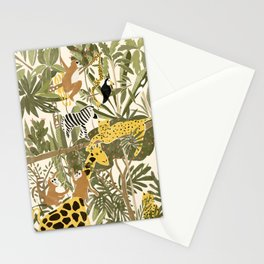 Th Jungle Life Stationery Cards