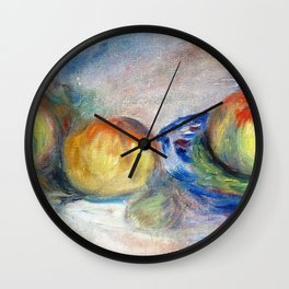 Still Life With Apples - Digital Remastered Edition Wall Clock