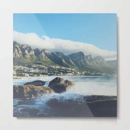 Hello Cape Town Metal Print