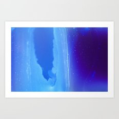 Dive Deep Art Print