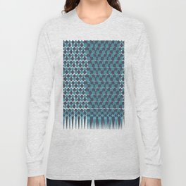 Cubist Ornament Pattern Long Sleeve T-shirt