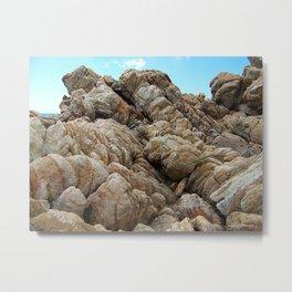 """""""Rock Scramble (i)"""" by ICA PAVON Metal Print"""