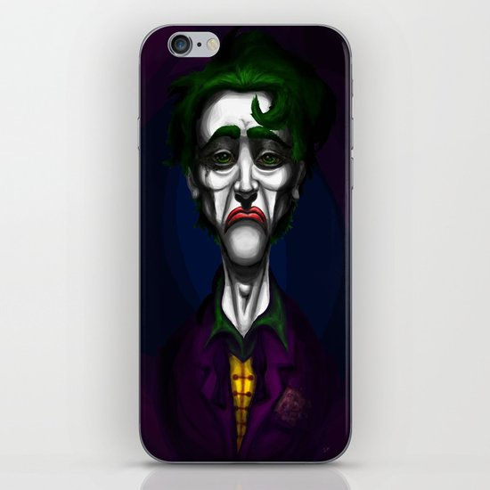 Sad Joker iPhone & iPod Skin