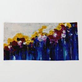 Always Flowers Beach Towel