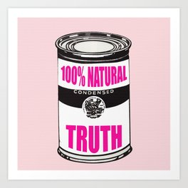 THE TRUTH DIET Art Print