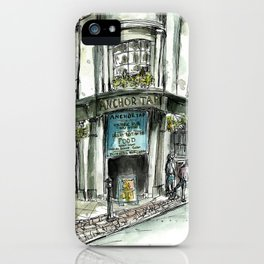 Anchor Tap iPhone Case