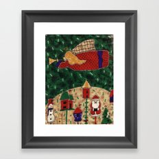 Sweet Christmas Framed Art Print