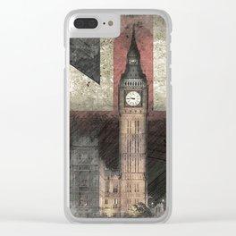 Big Ben United Kingdom Clear iPhone Case