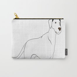 Big Dogs Give Better Cuddles Carry-All Pouch