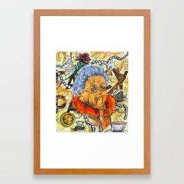 Fancy Pants Framed Art Print