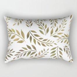 Palms & Fronds - Olive Rectangular Pillow