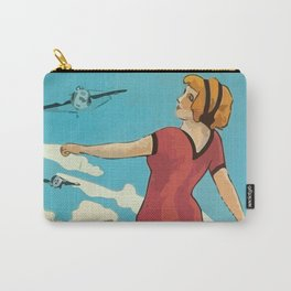 Italian Vintage Poster Rimini Carry-All Pouch