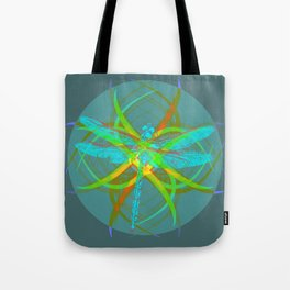 Insect, dragonfly Tote Bag