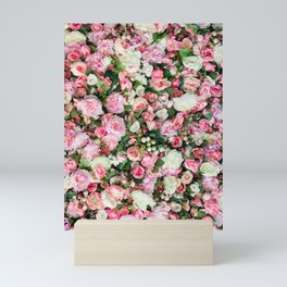 Pink Summer Flowers Mini Art Print